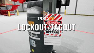 VR lockout tagout