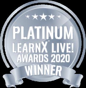 platinum award for best VR hard skills training