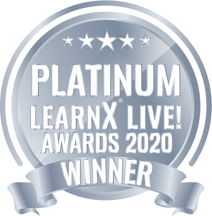 platinum award for best VR hard skills training