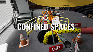 VR confined spaces trainig