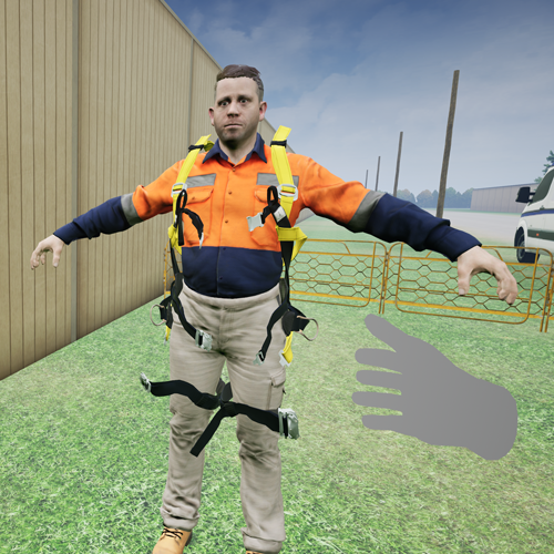 VR Pole Top Rescue PPE