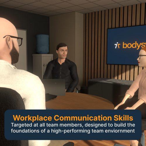 VR workplace communication
